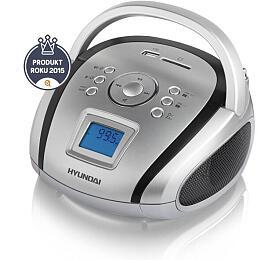 Hyundai TR 1088 SU3SB, MP3/USB/SD, stříbrný/černý