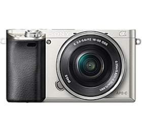Sony Alpha A6000 + 16-50mm, stříbrný
