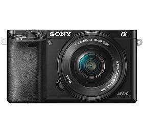 Sony Alpha 6000 + 16-50 OSS SEL, černý