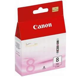 Canon CLI-8PM, 450 stran originální - červená