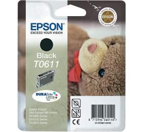 Epson T0611, 8ml originální - černá