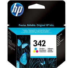 Inkoustová náplň HP No. 342, 5ml, 175 stran originální - červená/modrá/žlutá