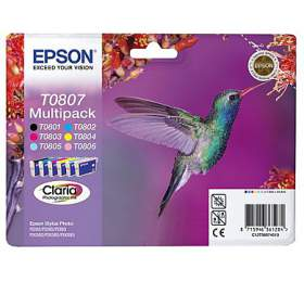Epson, Claria Photographic Ink 6 COLOR MULTIPACK, pro Stylus Photo R265/285/360,RX560/585/685