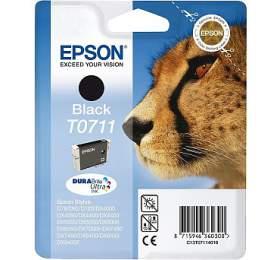 Epson T0711, 2x11ml originální -černá