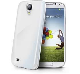 Celly Gelskin pro Samsung Galaxy S4- průhledný