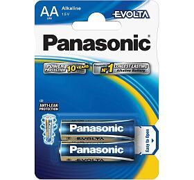 Panasonic AA, LR6, Evolta, blistr 2ks