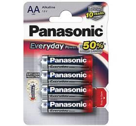 Panasonic Everyday AA, LR06, blistr 4ks