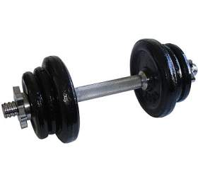 ACRA Nakládací jednoruční činky - 11 kg