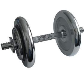 ACRA Činka nakládací, jednoruční, chromová -14 kg