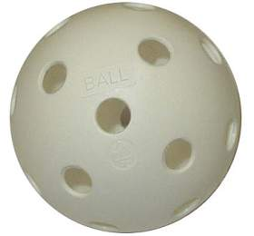 ACRA Florbalový míček necertifikovaný bílý
