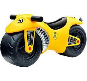G21 Motorka BIKE žlutá