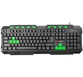 C-Tech GMK-102-G, CZ/SK - černá/zelená