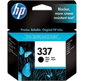 Inkoustová náplň HP 337, 400 stran originální - černá