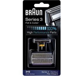 Braun FlexIntegral -31S stříbrný