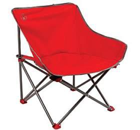 Coleman Kickback Chair, červená