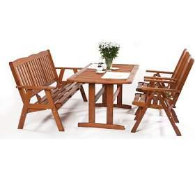 Zahradní nábytek sestava Sven 2+ 3+
