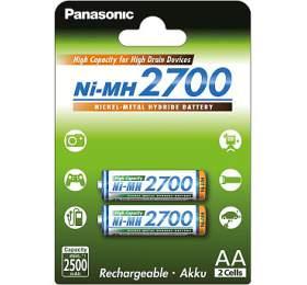 Panasonic HR6 AA BK-3HGAE/2BE HICAP 2700