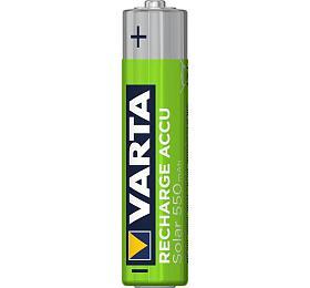 Varta SOLAR ACCU 550 mA, R03/AAA BV56733, ilustrační foto