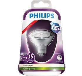 LED 35W GU5.3 WW12V MR16 36D Silver Dim/4 Massive 8718696490334