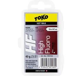 Toko skluzný vosk HF Hot Wax Red 40 g 2018-2019