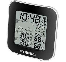Hyundai WS8236, černá/stříbrná