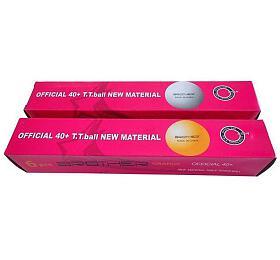 BROTHER G1807-40 míčky nastolní tenis 6ks 40mm