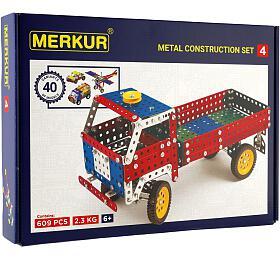 Stavebnice MERKUR 440 modelů 602ks 2vrstvy vkrabici 36x26,5x5,5cm