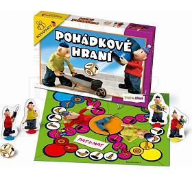 Pohádkové hraní Pat aMat, Člověče, nezlob sespolečenská hra vkrabici 34,5x23x4cm