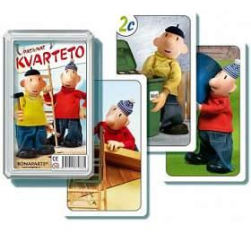 Kvarteto Pat aMat Ispolečenská hra -karty vplastové krabičce 6x10x2cm