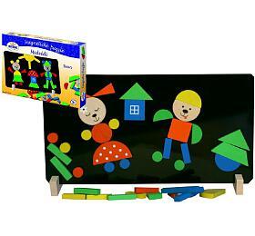 Magnetické puzzle Medvědi vkrabici 33x23x3,5cm