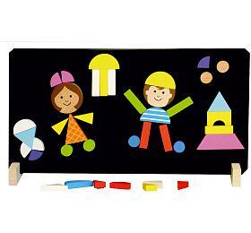 Magnetické puzzle děti vkrabici 33x23x3,5cm