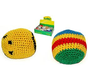 Hakysák míček footbag 6cm v sáčku 24ks v boxu