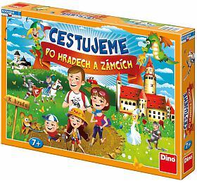 Cestujeme pohradech azámcích společenská hra vkrabici 43x30x5,5cm