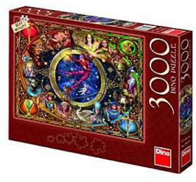 Puzzle Tarot 117x84cm 3000 dílků v krabici 43x30x5,5cm