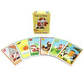 Černý Petr Štěňátko společenská hra -karty vpapírové krabičce