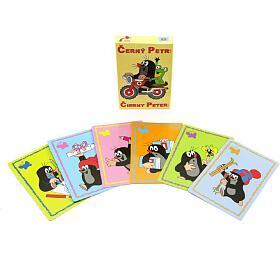 Černý Petr Krtek společenská hra -karty vkrabičce 6x9cm