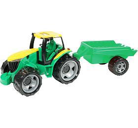 Lena Traktor plast bez lžíce abagru svozíkem