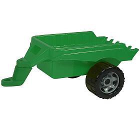 Přívěs vozík vlečka zatraktor plast 50x20x27cm