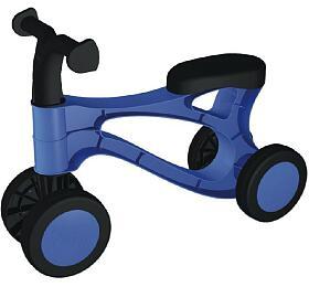 Odrážedlo Rolocykl modrý plast výška sedadla 26cm od18 měsíců