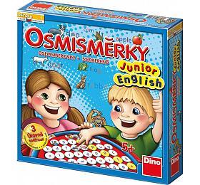Osmisměrky Junior English společenská hra vkrabici 27x27x7cm
