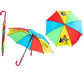 Deštník Krtek mechanický 2obrázky 57x8cm