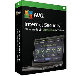 Software AVG Internet Security 2016, 1 lic. 12 měs.