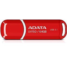 ADATA UV150 64GB USB 3.0 - červený