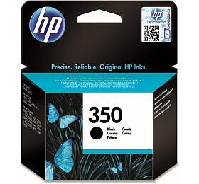 Inkoustová náplň HPNo. 350, 4,5 mloriginální -černá