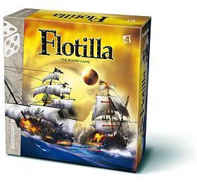 Flotilla námořní bitva společenská hra lodě vkrabici 30x30x9cm