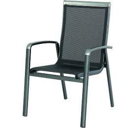 Zahradní židle Garland Forios hliníková stohovatelná židle
