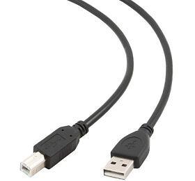 Kabel USB A-B 3m 2.0 HQ Black Gembird
