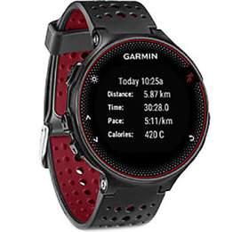 Garmin Forerunner 235 Optic, černá/červená