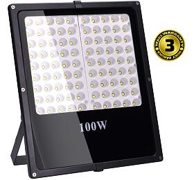 Ostatní SOLIGHT LED reflektor SMD 100W černý 8500lm, 6000K WM-100W-F