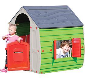 Dětský domek Buddy Toys BOT 1011 Domeček MAGICAL šed.